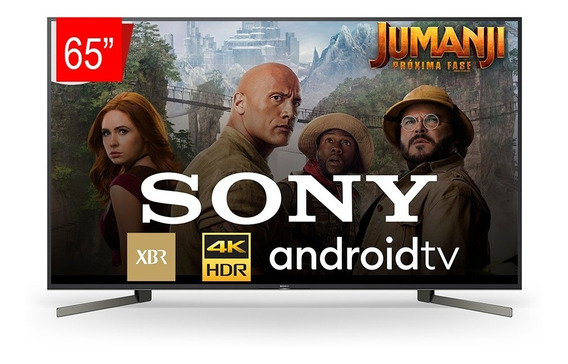Smart Tv Sony - 65 Led 4k Uhd Hdr - Androidtv Xbr 65x955g