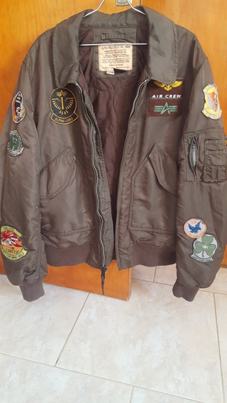 Campera De Vuelo Cwu Pilot Alpha Industries Original.