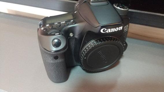 V Ou T Em Sony 6500, Canon 70d So Corpo Carregador E Bateria