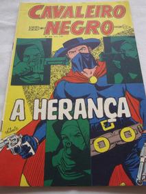 Cavaleiro Negro Nº 244 De 1972 Cores Faroeste Rge Excelente