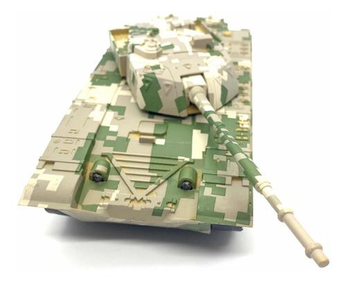 Tanque Militar Camuflado Burbuja Con Cañón Mercado Juguetes