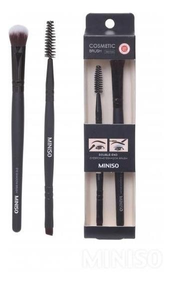 Pincel Miniso Eyebrow + Eyeshadow Brush