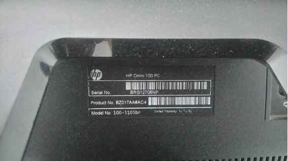 All In One Hp Omni100 4gbram Hd 500 Processador Amd Athlon