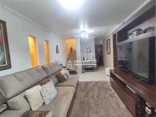 Sobrado Com 3 Dormitórios À Venda, 150 M² Por R$ 750.000,00 - Parque Das Árvores - São Paulo/sp - So3483