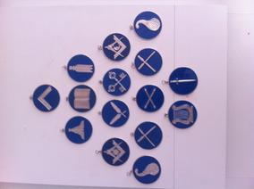 Artigos Maçônico Kit (15) Joia Rito De York