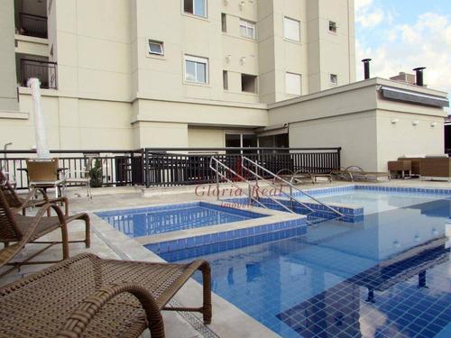 Apartamento Com 3 Dormitórios À Venda, 70 M² Por R$ 600.000,00 - Vila Pereira Barreto - São Paulo/sp - Ap0531
