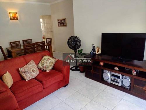 Apartamento À Venda, 85 M² Por R$ 426.000,00 - Embaré - Santos/sp - Ap2944