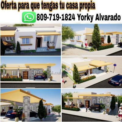 Adquiere Tu Casa En Doña Luz En Villa Mella Sto Domingo Nort