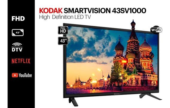 Smart Tv Led Kodak Smartvision 43sv1000 43 Fhd Netflix!