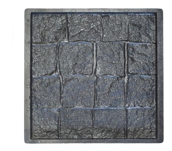 Molde Plastico Para Mosaicos, Baldosas Adoquin Recto Grande