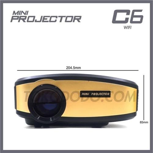 Mini Proyector Wifi C6, Ver Descripción.