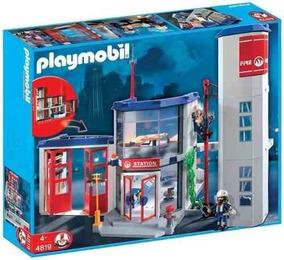 Playmobil - Corpo De Bombeiros - 4819 - Original Completo