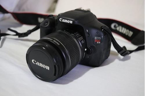 Câmera Canon Eos T3i E Lente Canon Ef-s 18-55mm F/3.5-5.6 Is