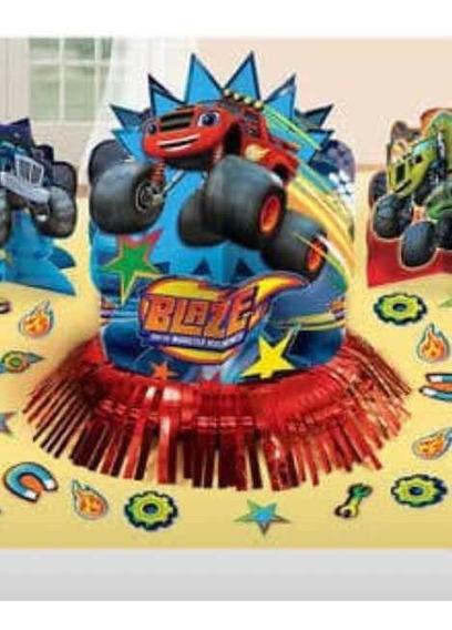 Artículos Para Fiesta Blaze Y Los Monster Machines