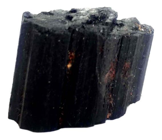 Pedra Cristal Bruta Turmalina Negra Proteção Purificação