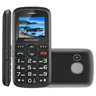 Celular Multilaser Vita Sos Dual Chip Bluetooth Preto P9048