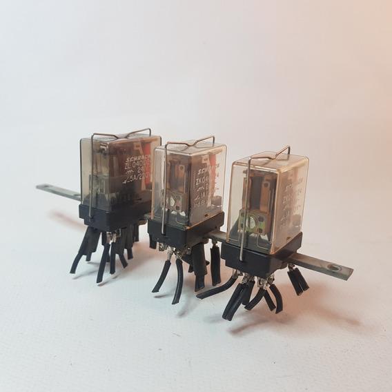 Kit 3 Rele - 2 - Zk040024 E 1 - Zl040024 Scharck Original