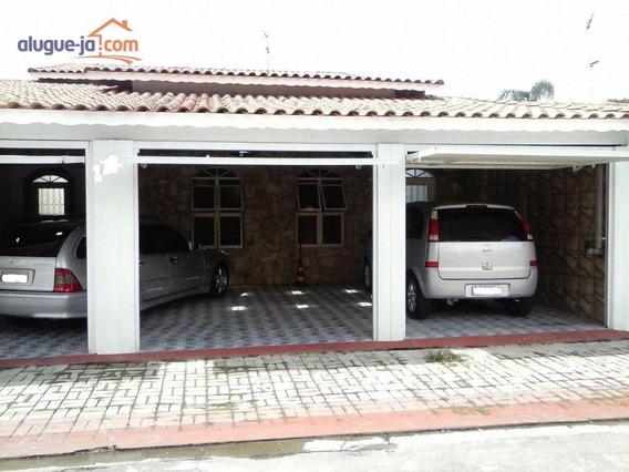 Casa Residencial À Venda, Conjunto Residencial Trinta E Um De Março, São José Dos Campos. - Ca1009