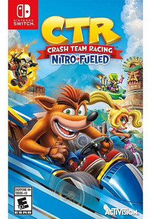..:: Crash Team Racing ::.. Para Nintendo Switch Game Cente