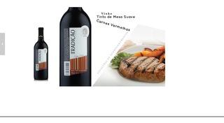 Vinho Tinto Suave - Frete Grátis - Kit 3 Garrafas