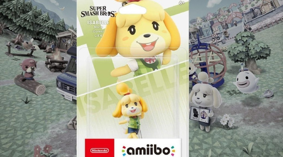 Amiibo Isabelle - Super Smash Bros Ultimate