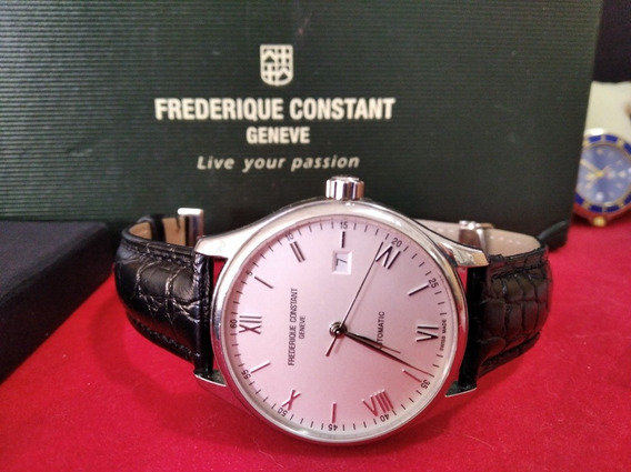 Relógio Suíço Frederique Constant Automático Com Estojo Comp