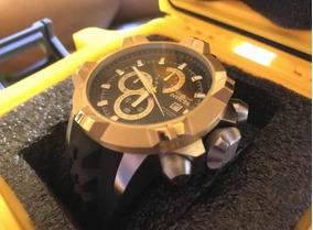 Relógio Invicta 19601 Original Grande 50mm Prata/dourado!