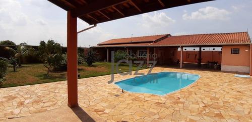 Linda Chácara Com 2 Dormitórios À Venda, 1250 M² Por R$ 680.000 - Chácara Recreio Alvorada - Hortolândia/sp - Ch0307