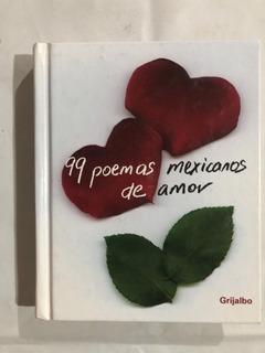 Libro 99 Poemas Mexicanos De Amor