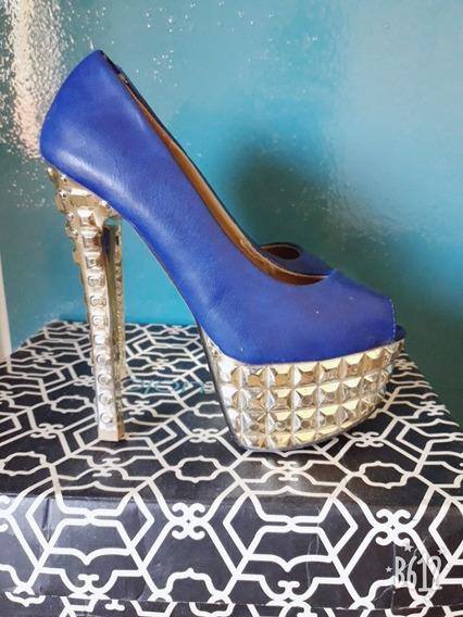 Stilettos Azules Originales
