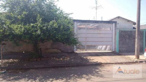 Casa Residencial À Venda, Jardim João Paulo Ii, Sumaré. - Ca5114