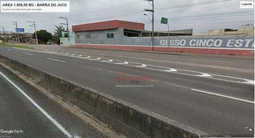 Área Para Alugar Próximo Ao Supermercado Perim Na Barra Do Jucu - Te0047