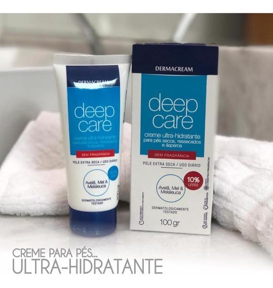 Creme Ultra Hidratante Para Pés Secos Sem Fragrância 100g