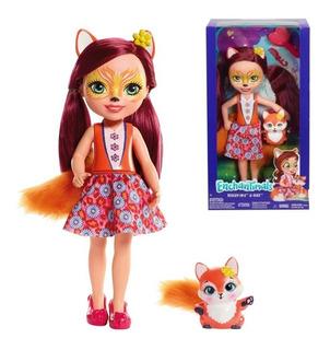 Enchantimals Felicity Fox Grande 31cm Y Flick Original Nueva