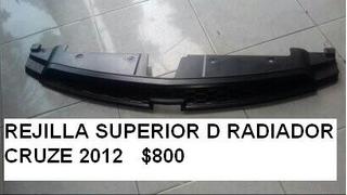 Rejilla Superior De Radiador Cruze 2012