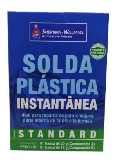 Solda Para Plastico Instantânea Veda Choque Lazzuril