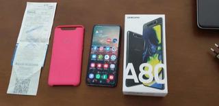Celular Samsung A80 Com Nota Fiscal