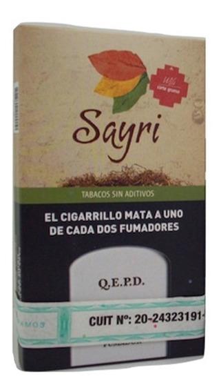 Pack X10 Sayri Todos Sabores Tabaco Para Armar Sin Aditivos