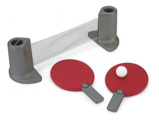 Kit Tenis De Mesa Ping Pong Portátil C/raquetes, Rede E Bola