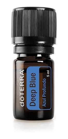 Óleo Essencial Deep Blue Doterra Importado 5ml Original Perfeito P/ Massagem Corporal