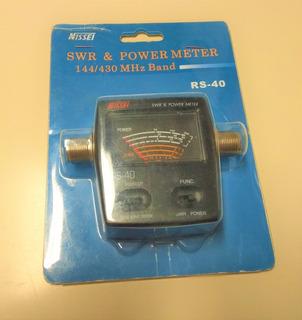 Wattímetro Medidor De Estacionaria Roe Nissei