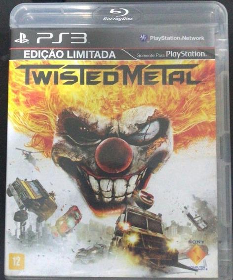 Ps3 Jogo - Twisted Metal - Frete $10