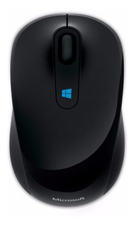 Mouse inalámbrico Microsoft Mobile Sculpt negro