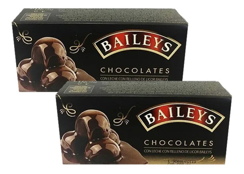 Estuche Regalo Chocolates Con Licor Bai - kg a $158
