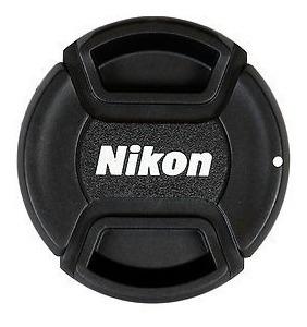 Tapa Lente Nikon 49mm 52mm 55mm 58mm 62mm 67mm 72mm 77mm 82m
