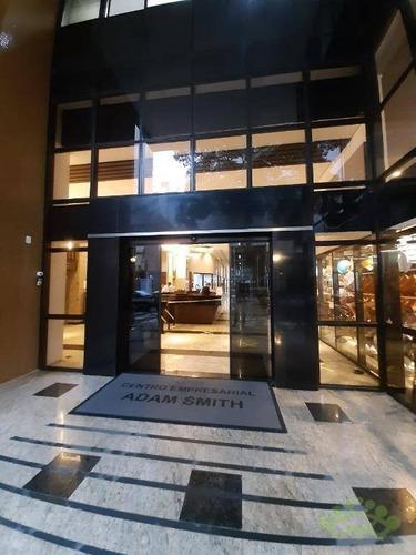 Sala À Venda, 138 M² Por R$ 1.000.000,00 - Centro - Curitiba/pr - Sa0102