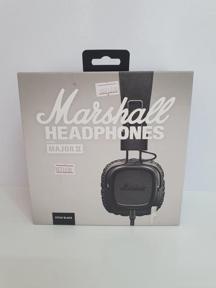 Headphone Marshall Original Major 2 Pitch Black