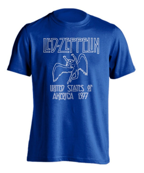 Playera Led Zeppelin - Usa Tour 1977 Rock