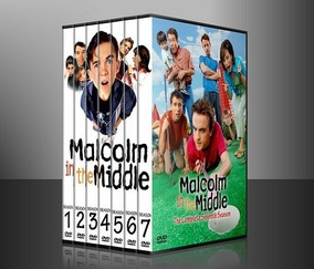 Malcolm El De Enmedio In The Middle Temporada 1-7 Latino Dvd