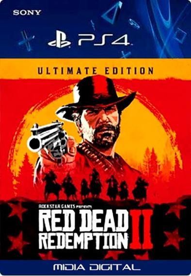 Red Dead Redemption 2 Ultimate | Ps4 User1 | Vitalício